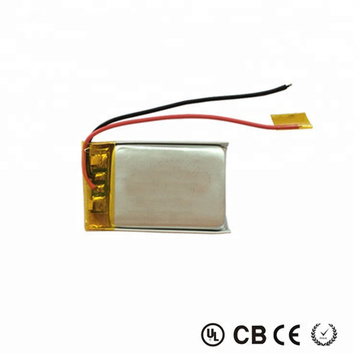 031230 3.7V 85mAh Rechargeable Lipo Battery