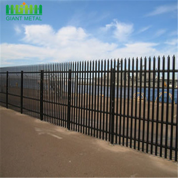 Palisade Steel Fence for Residential With Warranty