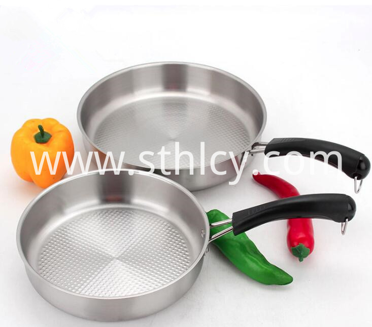Stainless Steel Pan For Frying