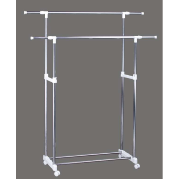 clothes drying rack on wheels