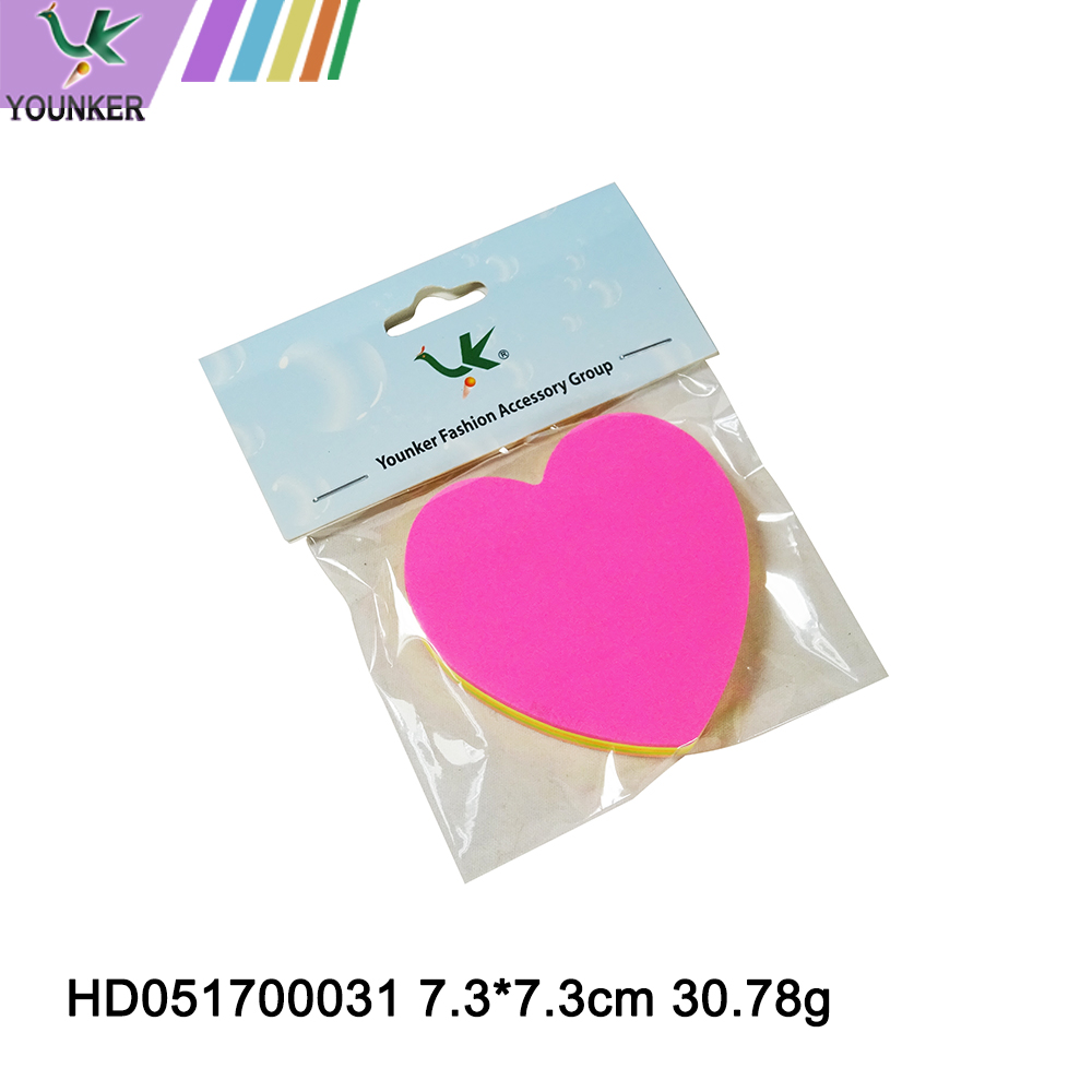 Heart Shaped Sticky Notes