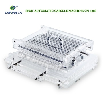 CN-120SCL semi-automatic joined encapsulation, joined capsule filler machine