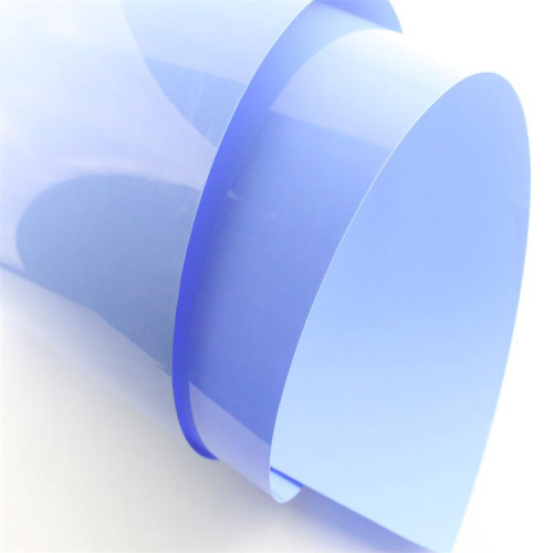 Smooth and high impact resistance PVC rigid films