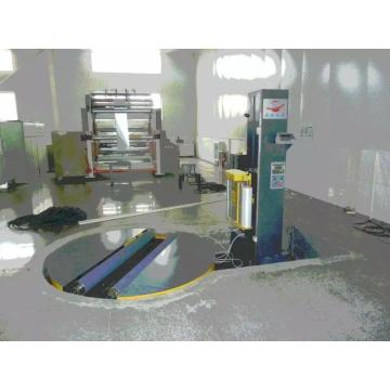 Cylinder auto wrapping machine