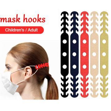 Face Comfort Ear Masks Hook Adjustable Anti-slip Mask Ear Grips Extension Buckle PortableUniversal Mask Extender Holders Face 95