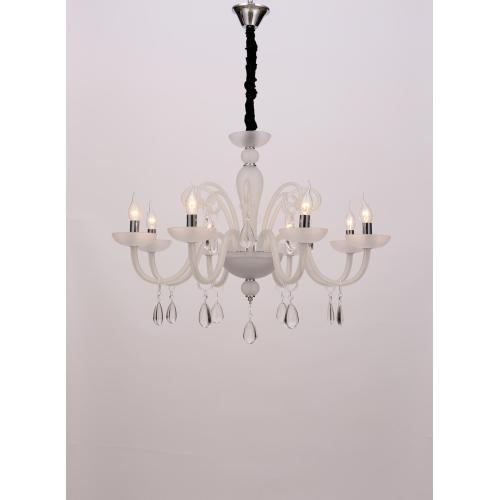 European Style Elegant for Dining room White Chandelier