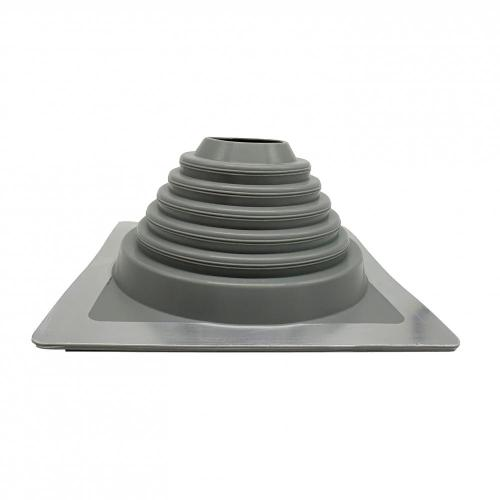 250*250mm Base Size EPDM/Silicone Rubber Roof Vent Flashing