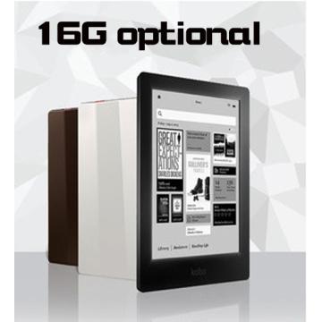 100% NEW!eBook eReader Kobo Aura HD 6.8 inch 1440x1080 WIFI Touch screen e Book Reader e-ink Front Light e-books Reader