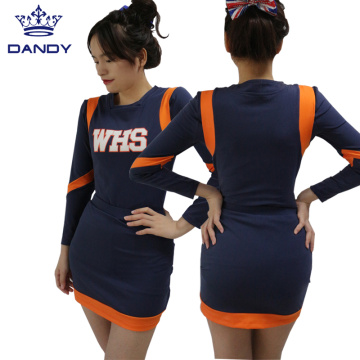 Custom collegiate cheer uniforms
