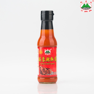 garlic chilli sauce 160g glass bottle