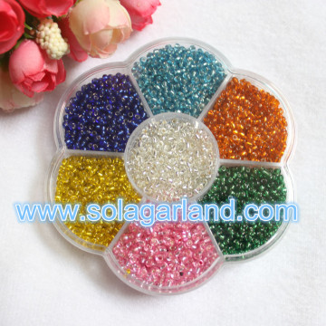 Flower Shape Clear Storage Box Plastic Case