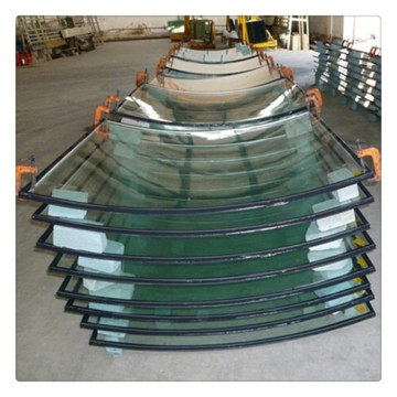 Bent Tempered Insulated Glass Panels For Building Windows