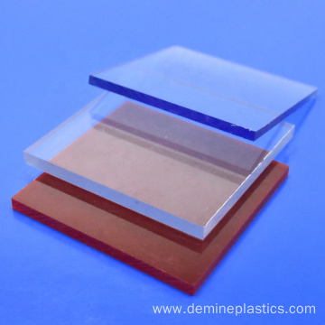 Factory polycarbonate color board outdoor using