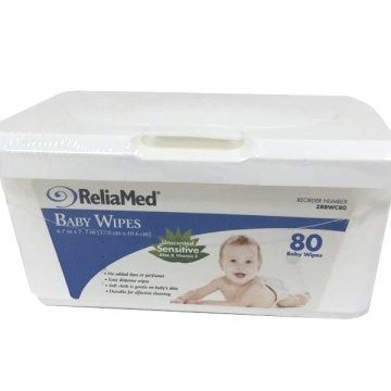Eco Friendly Scented Waterwipes Baby Wipes Dispenser Box