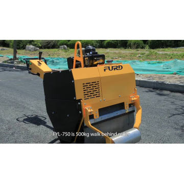 Mini Pedestrian Vibratory Road Roller for Sale