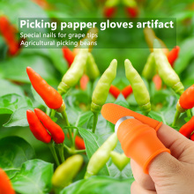 Silicone Thumb Knife Finger Protector Plucking Device For Cutting Vegetable Agricultural Tool Kit Finger Guard Protect Finger