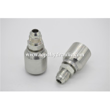 Reducer coupling connector hydraulic hose adapters