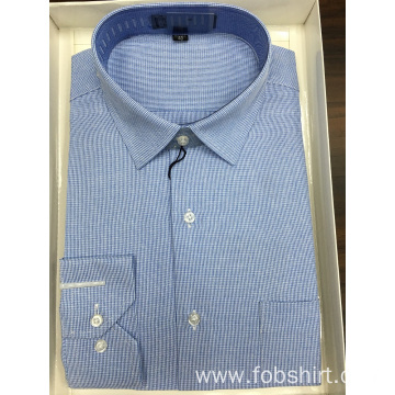 Custom Yarn Dyed Business Shirt in Spring