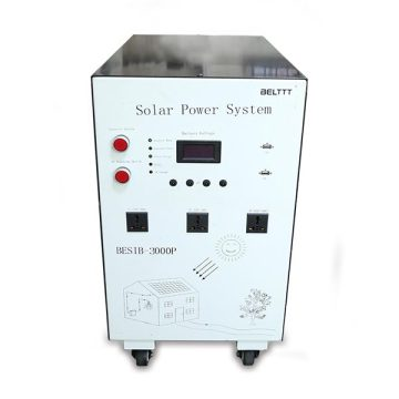 Portable 1000W AC Soalr Generation System with Battery