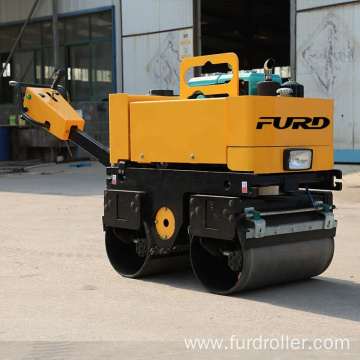 Walk behind vibratory roller road roller compactor vibratory roller for sale FYL-800CS