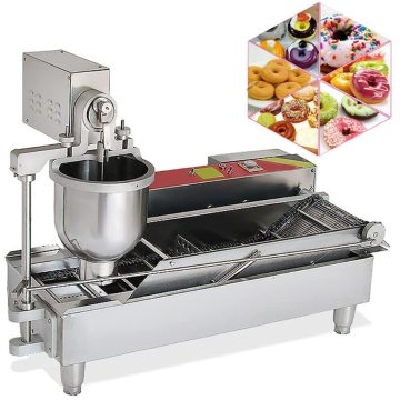 automatic donut machine with high quality and fryer for sale