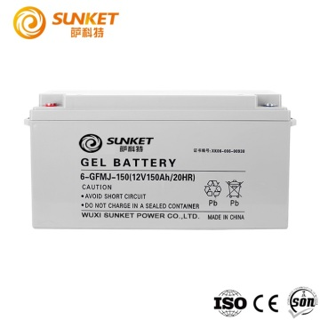 12v 150AH GEL battery inverter for 3kw system