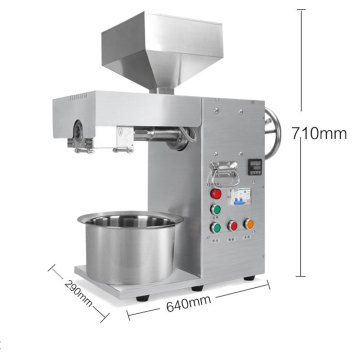 3000w Industrial commercial oil press machine stainless steel oil presser for sesame/rapeseed/flax/walnut peanut oil extractor