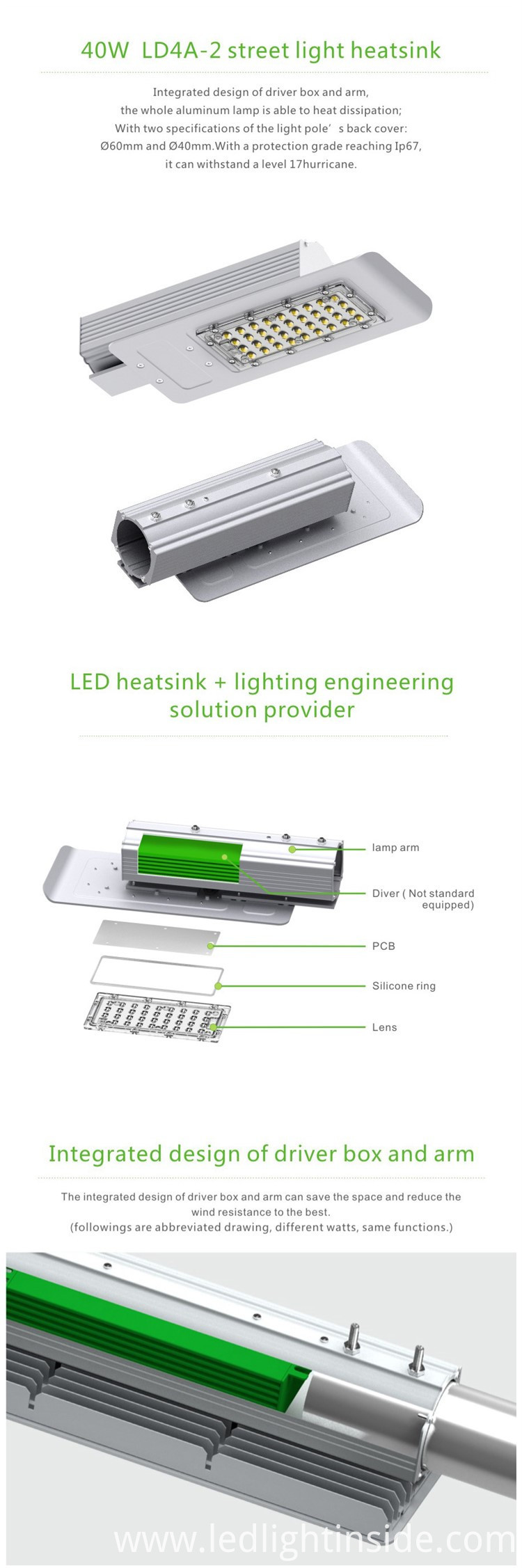 LED Street Light 40W