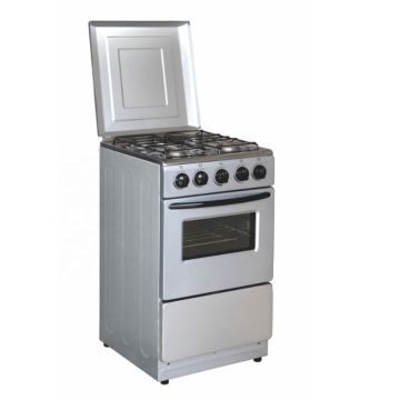 AEG Double Oven Manual Gas Cooker