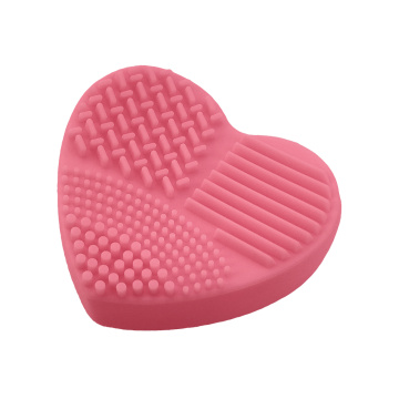 Heart Shaped Silicone Brush Cleaner