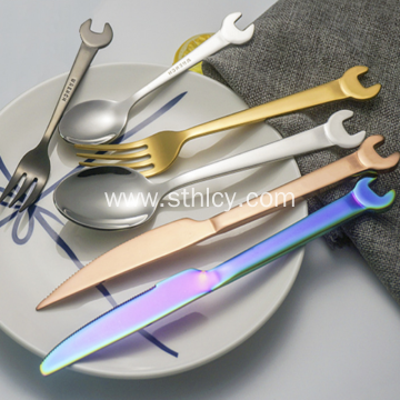 Creative Wrench for 304 Stainless Steel Tableware