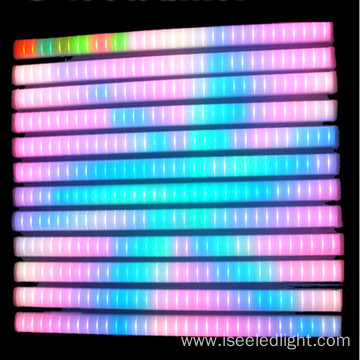 Waterproof dmx rgb tube facade lighting