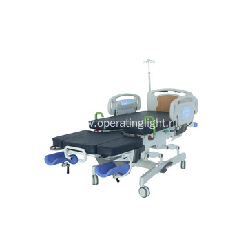 Electric multifunction obstetric bed