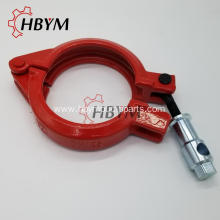 Concrete Pump Spare Parts Bolt Forged Clamp