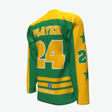 Teams custom reversible sublimation printing ice hockey jerseys
