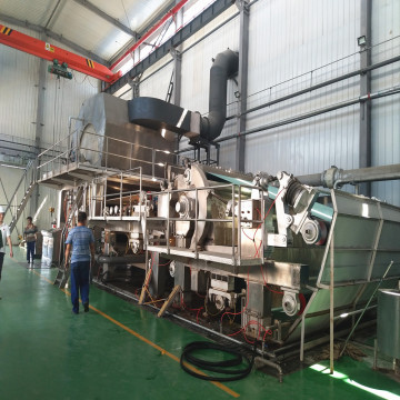 Virgin Pulp Toilet Paper Tissue Making Machine