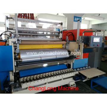 Fully-auto LLDPE Plastic Stretch Film Machine