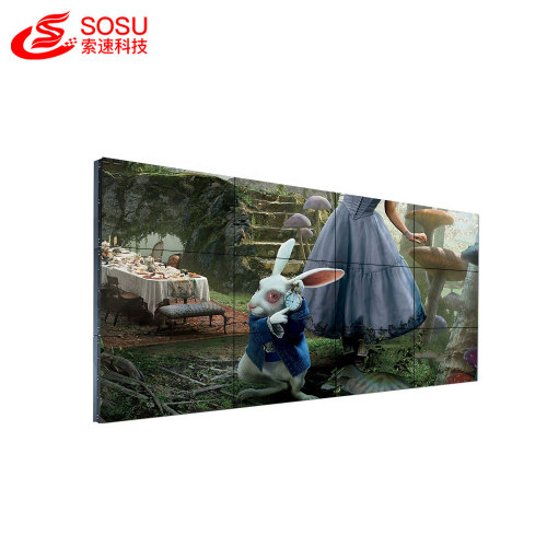 Outdoor advertising digital display Airport lcd video wall