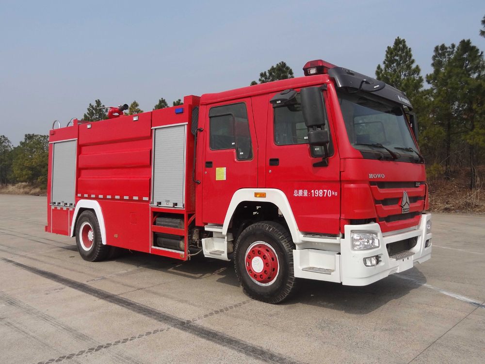 sino howo fire fighting truck 3