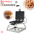 commercial square honeycomb shape waffle maker with CE for sale