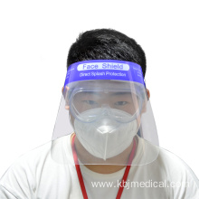 Disposable Medical protective anti-fog face shield helmet