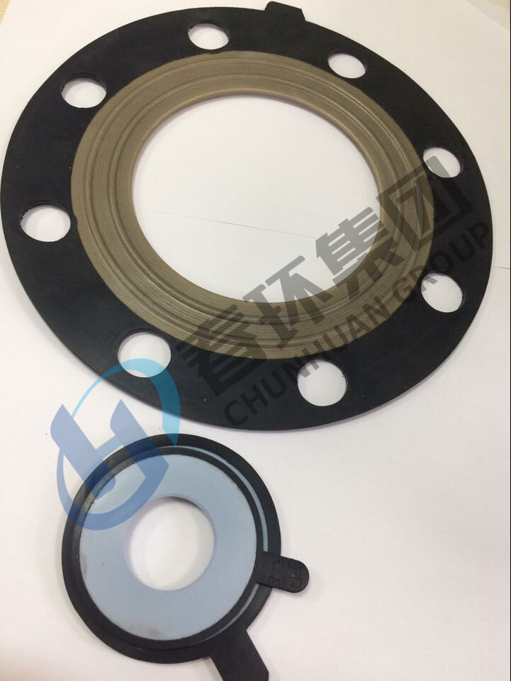 Ptfe Cotated Rubber Gasket