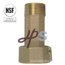 Lead free Bronze or Brass Meter cplg for Drinking Water System