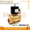 2W350-35 1 1/4'' Brass Electric Solenoid Valve Water