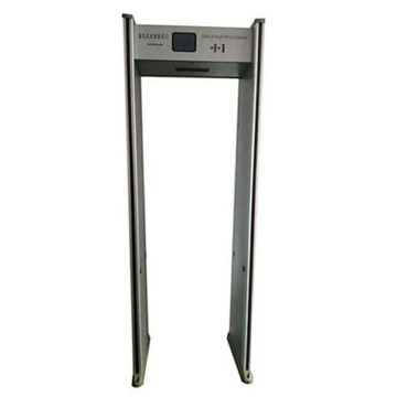 Portable security metal detector