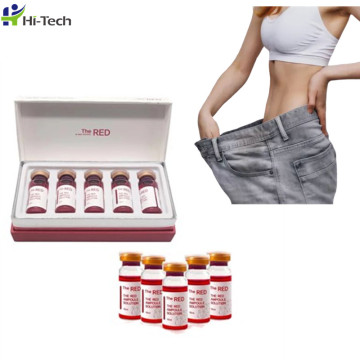 Hot selling the red ampoule korea lipolytic solution injection for weight loss