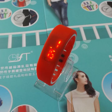 Personalized LED Screen Silicone Watch Bracelet