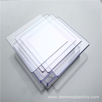 Fireproof transparent plastic building decoration wall panel