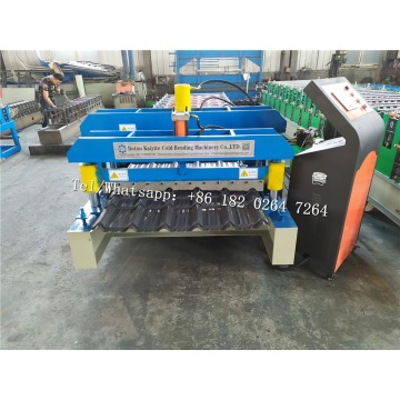 Glazed Tile Roofing Roll Forming Machine For Congo