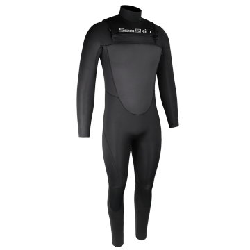 Seaskin Customized Men's 4/3mm Chest Zip Full Wetsuit